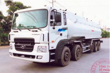 Xe bồn chở xăng dầu HD360 26 khối.