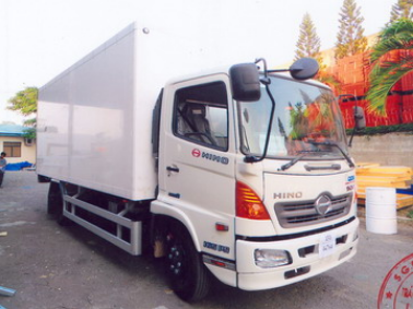 Xe tải Hino FC 6 tấn thùng bảo ôn
