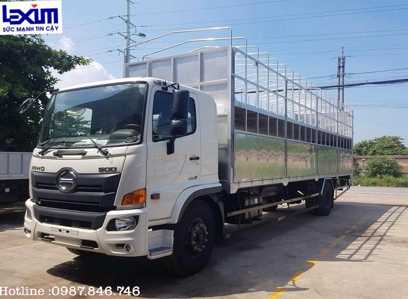 Xe tải chở mô tô – xe máy thùng 10m (New)